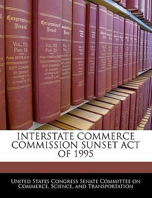 Interstate Commerce Commission Sunset Act of 1995