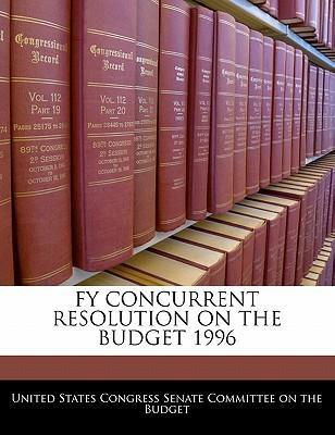 Fy Concurrent Resolution on the Budget 1996