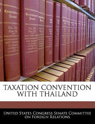 Taxation Convention with Thailand