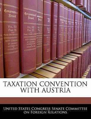 Taxation Convention with Austria