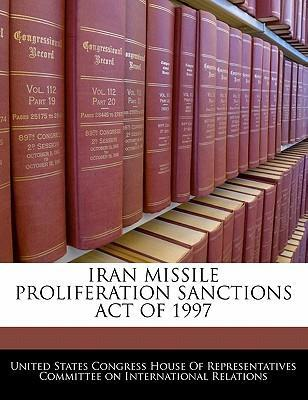 Iran Missile Proliferation Sanctions Act of 1997
