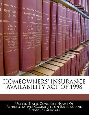 Homeowners' Insurance Availability Act of 1998