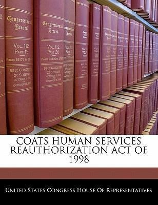 Coats Human Services Reauthorization Act of 1998