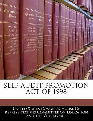 Self-Audit Promotion Act of 1998