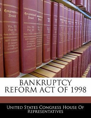 Bankruptcy Reform Act of 1998