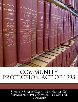 Community Protection Act of 1998