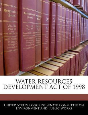Water Resources Development Act of 1998