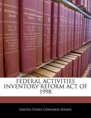 Federal Activities Inventory Reform Act of 1998