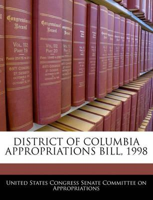 District of Columbia Appropriations Bill, 1998