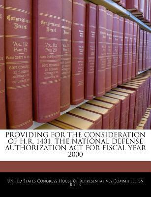 Providing for the Consideration of H.R. 1401, the National Defense Authorization ACT for Fiscal Year 2000