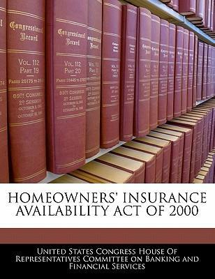 Homeowners' Insurance Availability Act of 2000