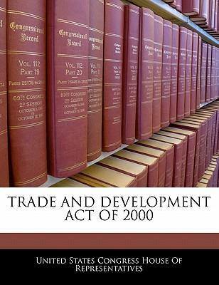 Trade and Development Act of 2000