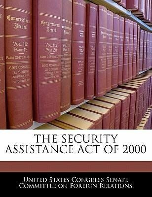 The Security Assistance Act of 2000