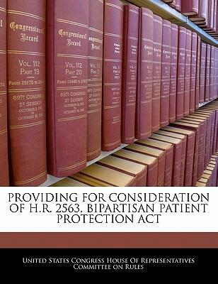 Providing for Consideration of H.R. 2563, Bipartisan Patient Protection ACT