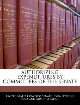 Authorizing Expenditures by Committees of the Senate