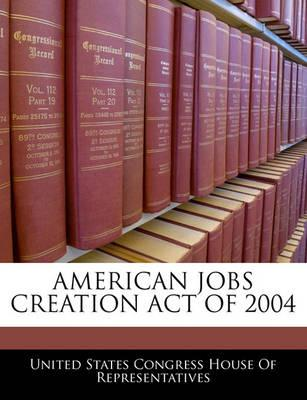 American Jobs Creation Act of 2004