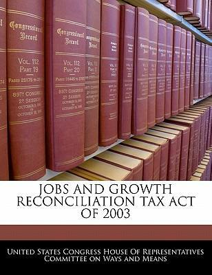 Jobs and Growth Reconciliation Tax Act of 2003