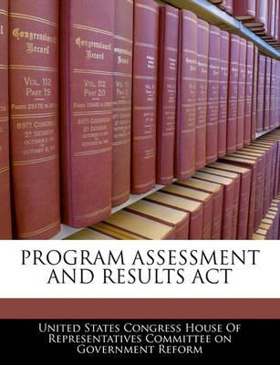 Program Assessment and Results ACT