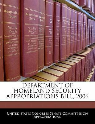 Department of Homeland Security Appropriations Bill, 2006