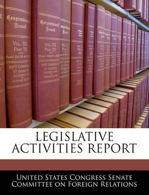 Legislative Activities Report