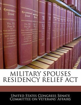 Military Spouses Residency Relief ACT