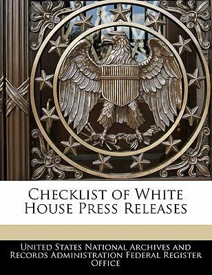 Checklist of White House Press Releases