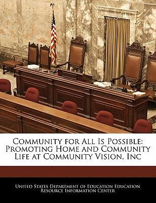 Community for All Is Possible