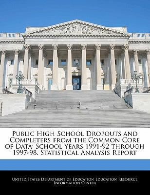 Public High School Dropouts and Completers from the Common Core of Data
