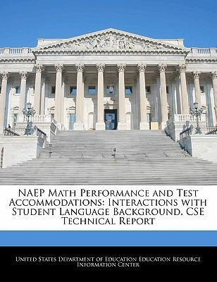 Naep Math Performance and Test Accommodations