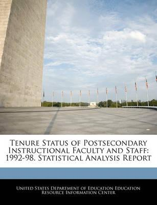 Tenure Status of Postsecondary Instructional Faculty and Staff