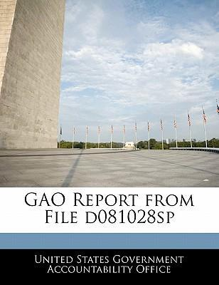 Gao Report from File D081028sp