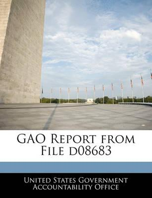 Gao Report from File D08683