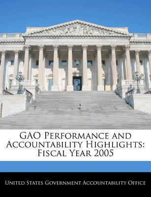 Gao Performance and Accountability Highlights
