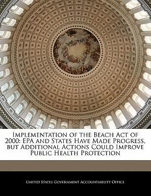 Implementation of the Beach Act of 2000