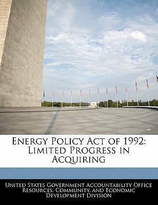 Energy Policy Act of 1992