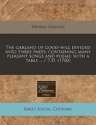The Garland of Good-Will Divided Into Three Parts