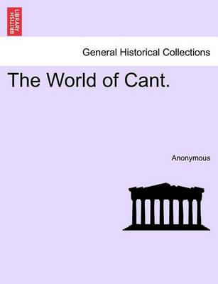 The World of Cant.