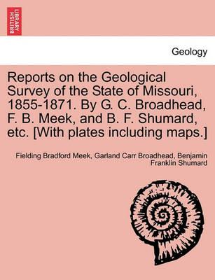 Reports on the Geological Survey of the State of Missouri, 1855-1871. by G. C. Broadhead, F. B. Meek, and B. F. Shumard, Etc. [With Plates Including Maps.]