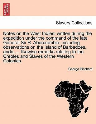 Notes on the West Indies