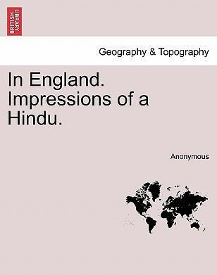 In England. Impressions of a Hindu.