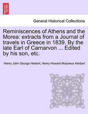 Reminiscences of Athens and the Morea