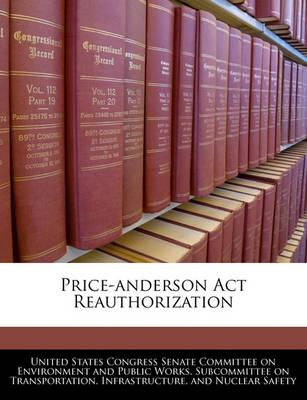 Price-Anderson ACT Reauthorization
