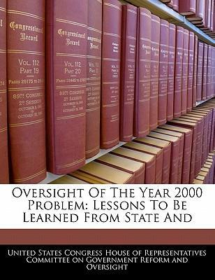 Oversight of the Year 2000 Problem