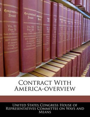 Contract with America-Overview
