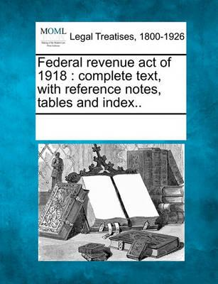 Federal Revenue Act of 1918