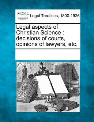 Legal Aspects of Christian Science