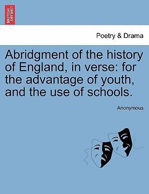 Abridgment of the History of England, in Verse