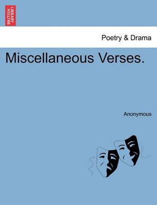 Miscellaneous Verses.