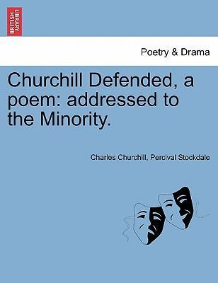 Churchill Defended, a Poem