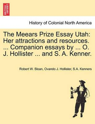 The Meears Prize Essay Utah